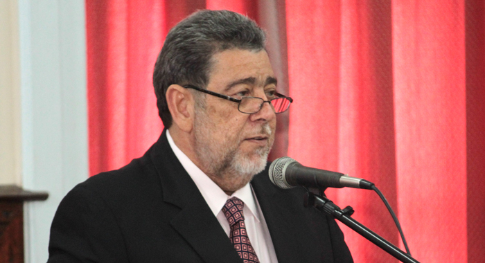 Prime Minister Gonsalves told Parliament that the oppositions action was not justifiable. (IWN photo)