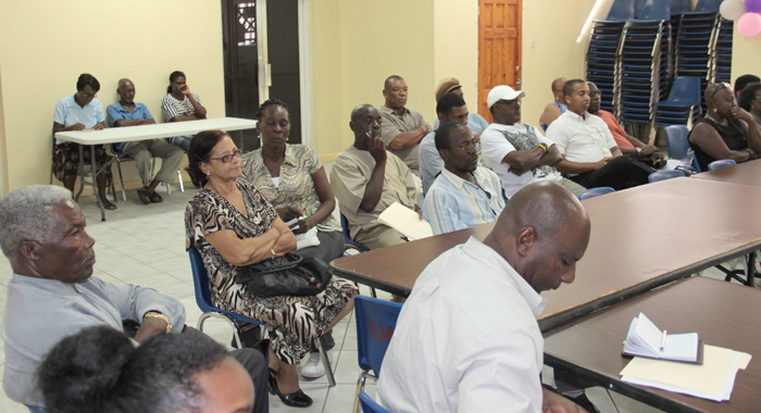A section of the audience at the press conference. (IWN photo)