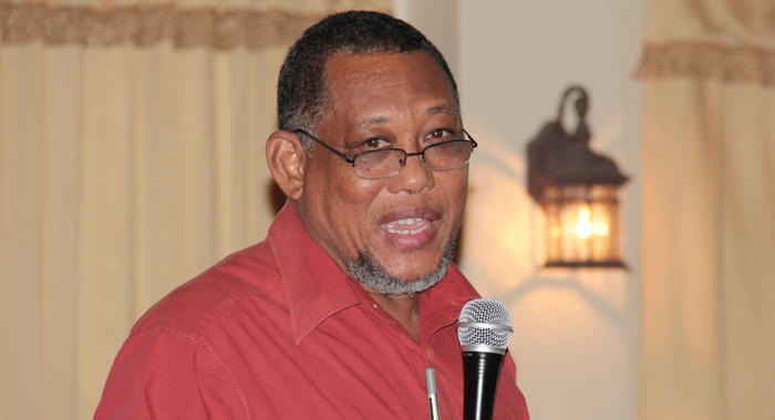 Jamaican climate change negotiator Clifford Mahlung. (IWN photo)