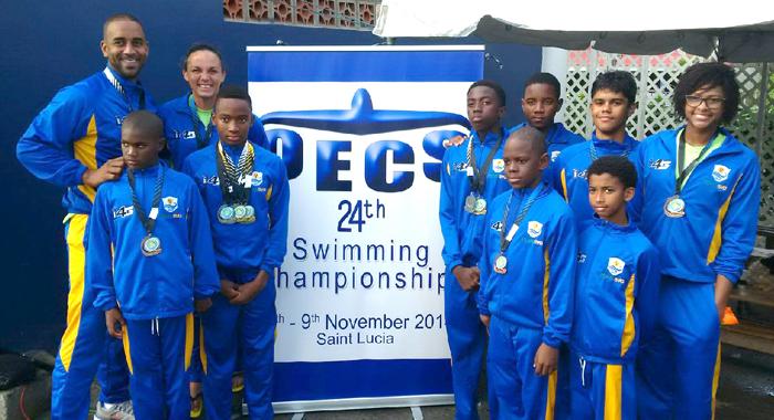Svg Oecs 2014 Medal Winners