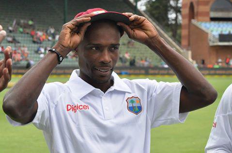 Kenroy Peters in his West Indies Cricket Team uniform. (Photo: ESPN)