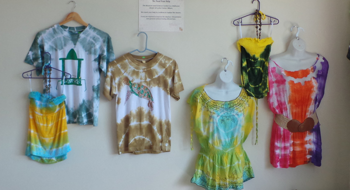 Articles of clothing on display at the HMSC. (Photo: E. Glenford Prescott/IWN)