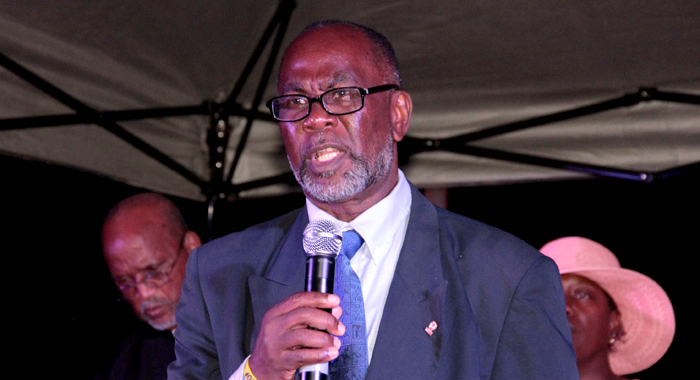 Mp For Central Kingstown And Vice-President Of The New Democratic Party, St. Clair Leacock. (Iwn Photo)