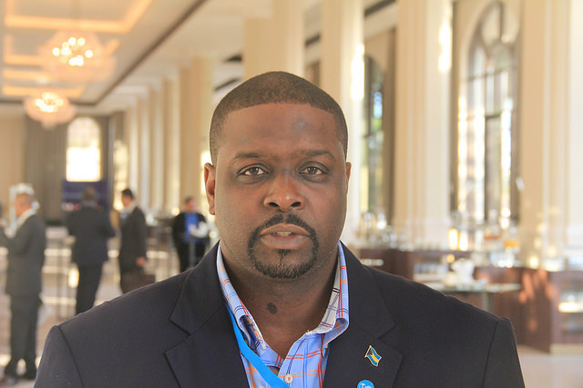 Minister of the Environment and Housing in The Bahamas, Kenred Dorsett. Credit: Kenton X. Chance/IPS