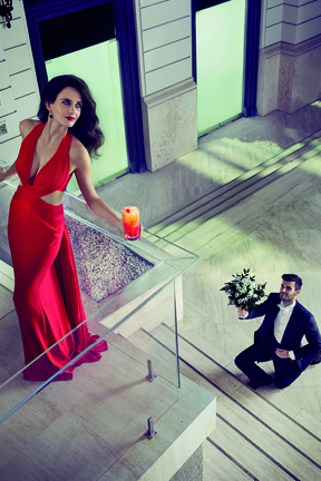 An image from the 2015 Campari Calendar.