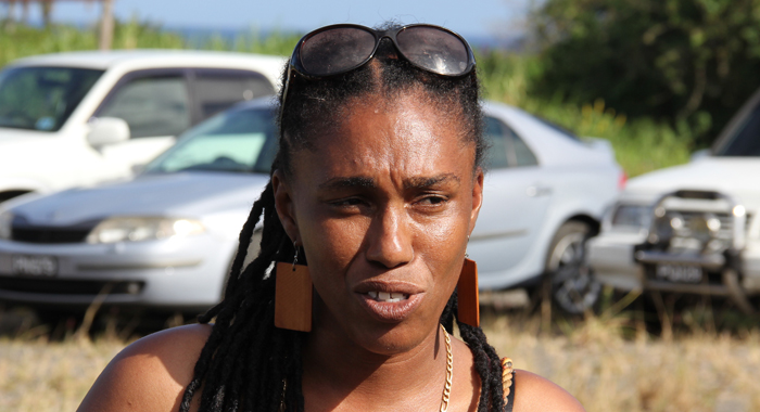 Fastina Baptiste has said she sometimes wants to cry when she thinks of her present circumstances, compared to when she worked for Samuel. (IWN photo)