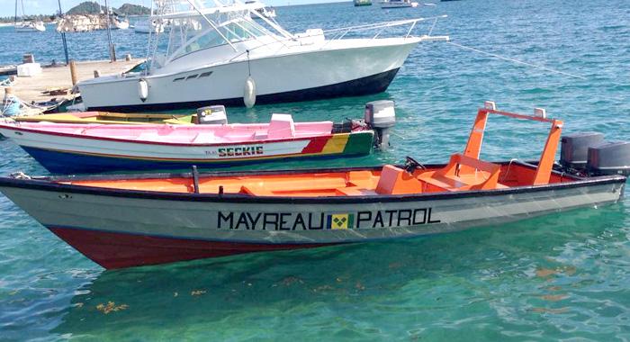 Mayreau Patrol Boat 1
