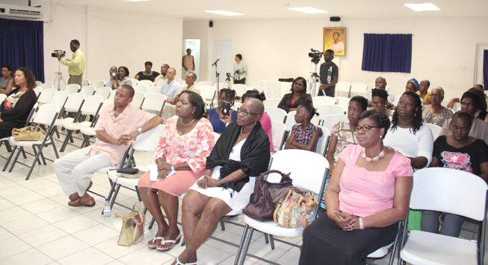 A section of the audience at the event on Saturday. (IWN photo)