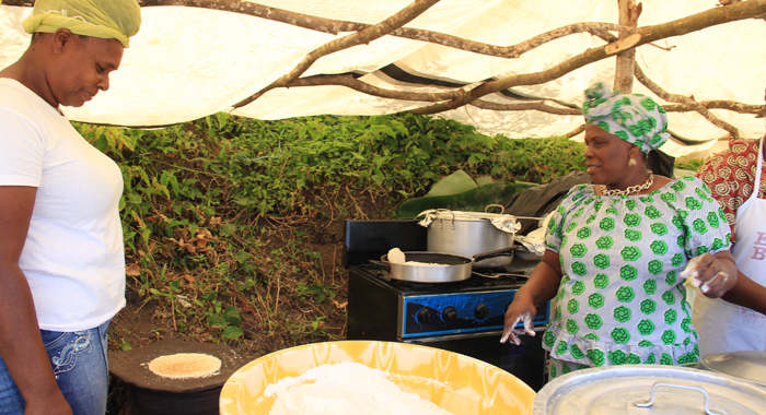 Women Make And Sell Cassava Bread And Madungo Bakes In Fancy On Hero'S Day. (Iwn Photo0