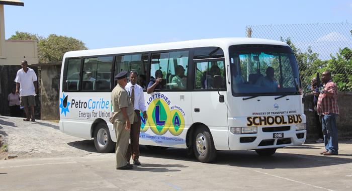 Fancy School Bus 1