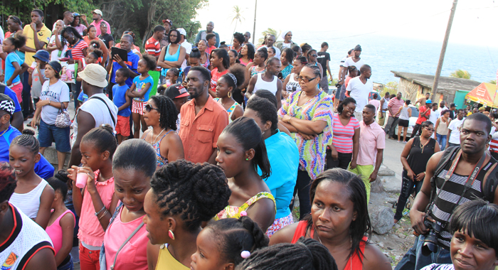A Section Of The Crowd During The Staging Of The Cultural Package. (Iwn Photo)