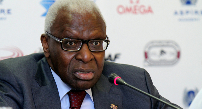 Diack, 82, from Senegal was first elected to athletics top post in 1999 despite being caught up in a series of bribery scandals six years prior. (Internet photo)