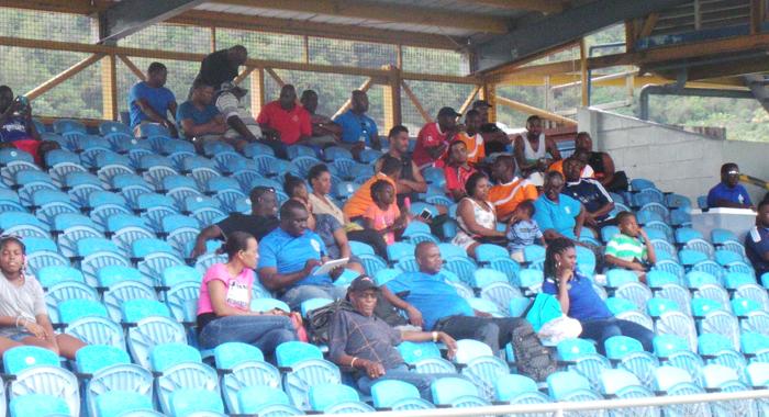 Some spectators at the venue. (Photo: E. Glenford Prescott)