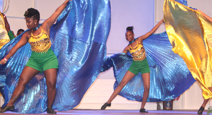 Arabesque Dance Company was among the guest acts at Saturday's show. (Photo: Zavique Morris-Chance/IWN)