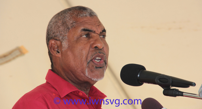 Minister of Housing, Montgomery Daniel. )IWN photo)