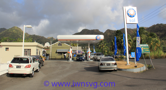 The rebranded service station at Cane Grove. (IWN photo)