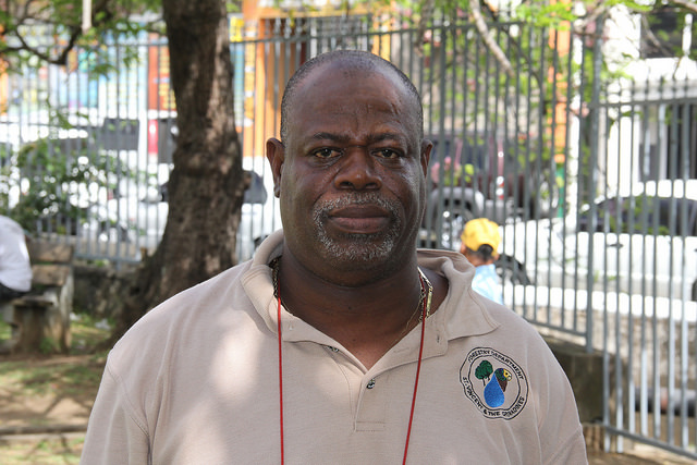 Forest Technician Joel Poyer says residents of St. Vincent and the Grenadines must play closer attention to how their own actions are exacerbating the effects of climate change. (Credit: Kenton X. Chance/IPS)