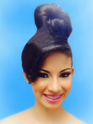 Miss Dominican Republic – Lesleybell Troncoso Rijo.