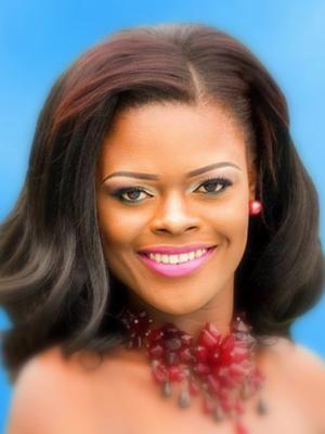 Miss Guyana – Alicia Bess.