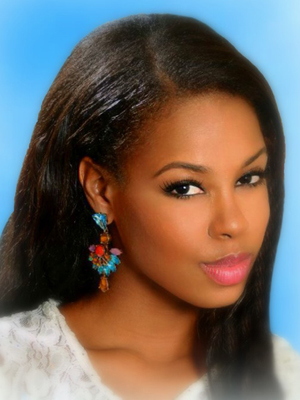 Miss St Kitts and Nevis -- Tishima Browne.