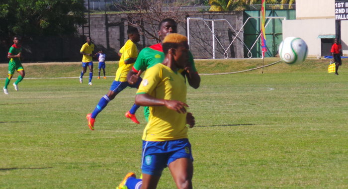 Myron Samuel created SVG's second goal. (Photo: E. Glenford Prescott)