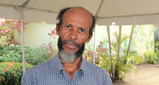 St. Lucian farmer Anthony Herman lost 70 per cent of his cashew crop in 2015 as a result of a drought in his country. (Credit: Kenton X. Chance/IPS0