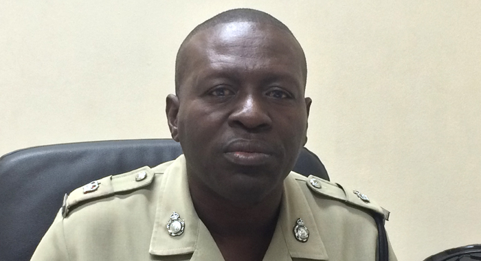 Head of the Traffic Department, Superintendent of Police Kenneth John. (IWN photo)