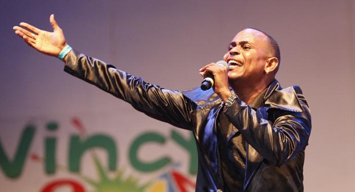 Man Zangie retained the National Calypso Monarch crown. (Photo: Oris Robinson)