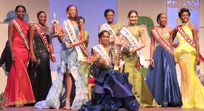 Miss SVG 2015, De Yonté Mayers, also won the Miss Carival crown. (IWN photo)