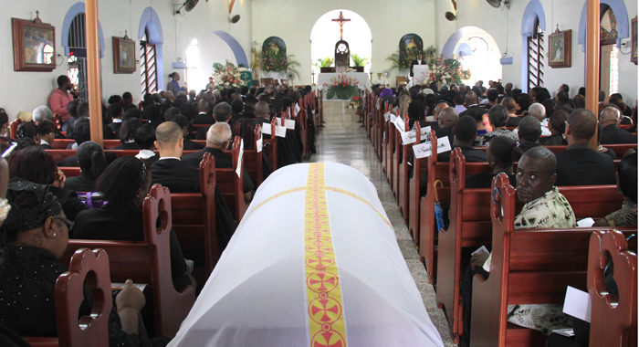 Nicole Sylvesters Funeral 2