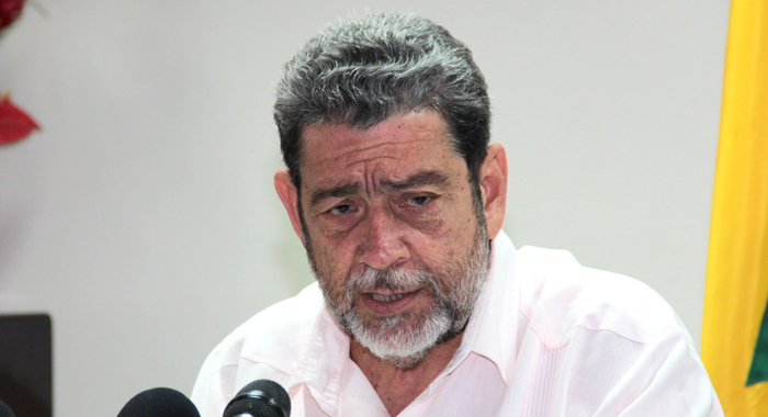 Prime Minister and Minister of Finance Ralph Gonsalves. (IWN photo)
