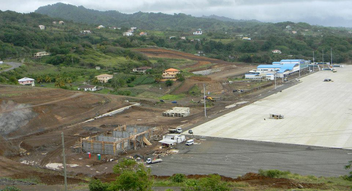 Construction of Argyle Int'l Airport began seven years ago. (Photo: Friends of Argyle Int'l/Facebook)