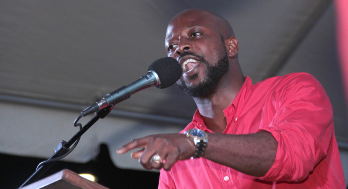 Carlos James, ULP candidate for North Leeward. (IWN file photo)