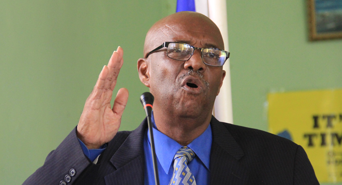 Leader of the Opposition Arnhim Eustace. (IWN file photo)