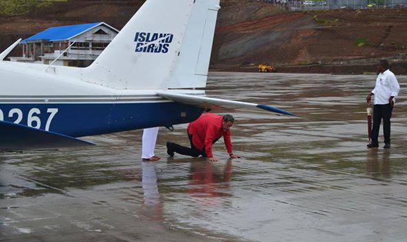 Gonsalves Kisses Ground At Argyle
