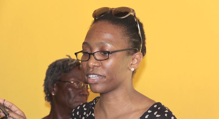 Lawyer Maia Eustace. (IWN photo)