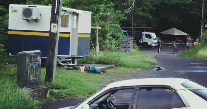 Man Dies Outside Police Station
