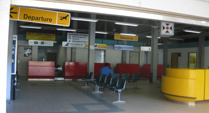 Bequia Airport Check In
