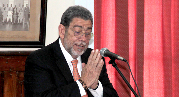 Prime Minister Ralph Gonsalves. (IWN file photo)