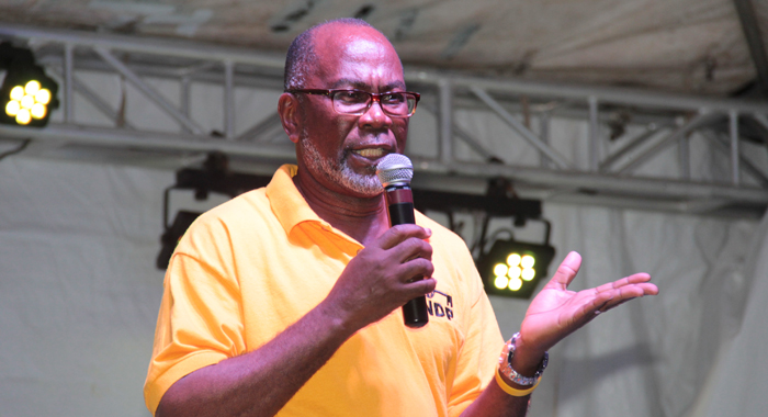 Mp for Central Kingstown, St. Clair Leacock, says the two Gonsalveses should come bring opposition lawmakers to Parliament. (IWN photo)