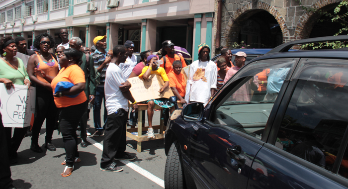 Protest In Kingstown 3