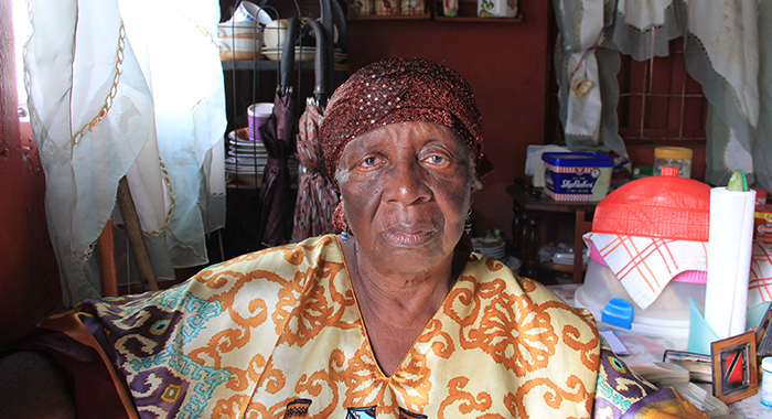 Vera Byron is mourning the loss of her partner Ishmael Browne, rather celebrating her birthday. (I WN photo)