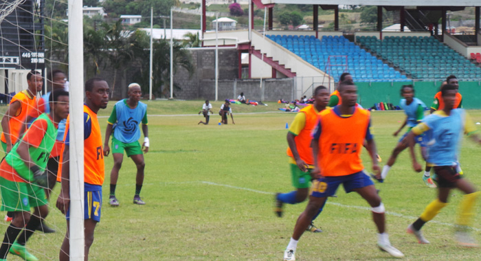 Vincy Heat Practice Session Tuesday Afternoon At Av