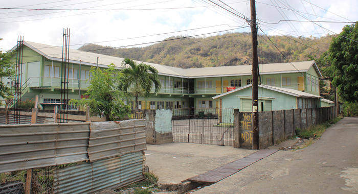 Buccament Bay Secondary School. (IWN photo)