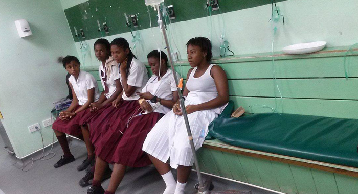 Buccament Bay Students