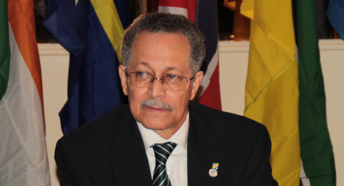 Secretary General of the African, Caribbean and Pacific group Patrick I. Gomes. (CMC photo)