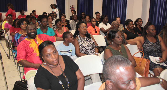 A section of the crowd at Tuesday's biennial convention. (IWN photo)