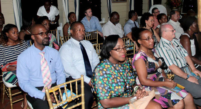Some of the attendees at Monday's event. (IWN photo)