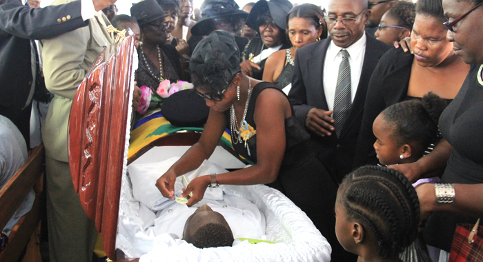 Giovanni Charles funeral 7