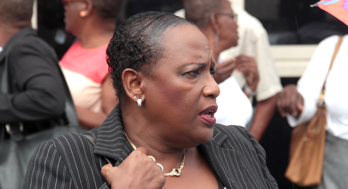 Defence counsel Kay Bacchus-Browne. (IWN photo)